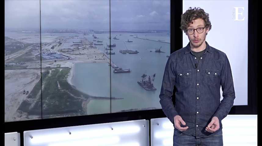 Illustration pour la vidéo Le sable, ressource stratégique et rare, objet d'un vaste trafic