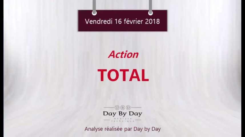 Illustration pour la vidéo Action Total - sous une serieuse zone d'obstacle - Flash Analyse IG 16.02.2018