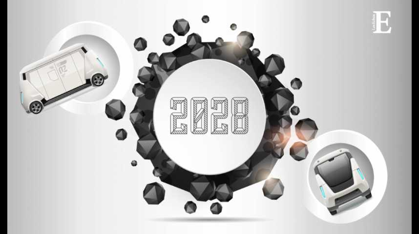 Illustration pour la vidéo 2028, l'avénement des voitures autonomes