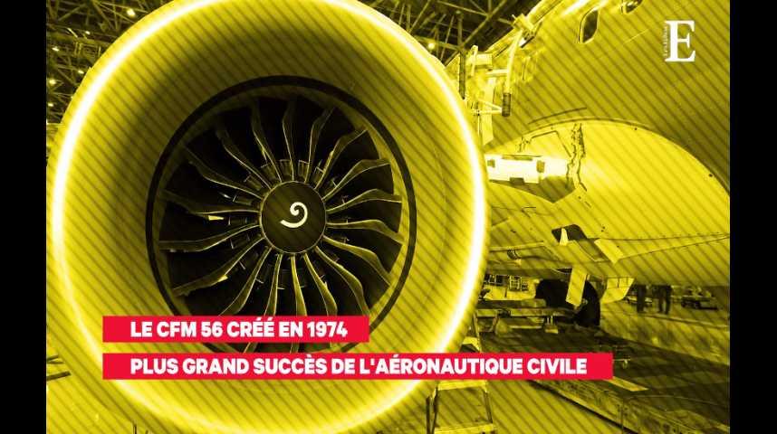 Illustration pour la vidéo Safran : l'aéronautique civile comme clé du succès