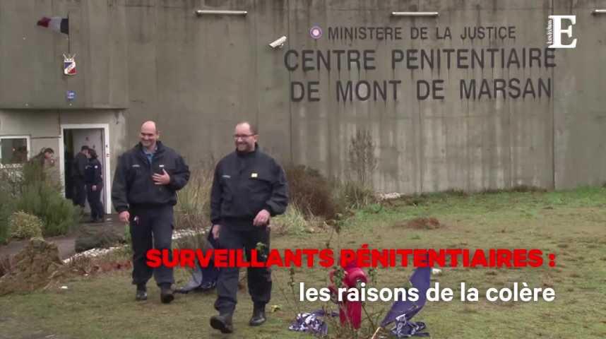 Illustration pour la vidéo Surveillants pénitentiaires : les raisons de la colère