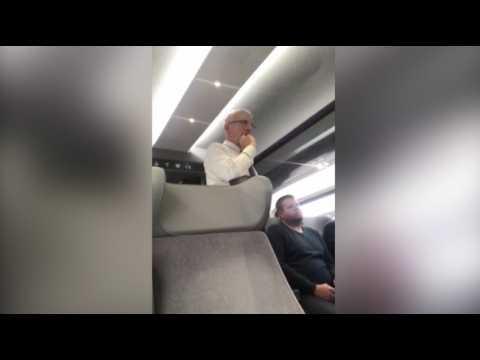 Guillaume Pepy devient contrôleur SNCF à bord d'un train en retard