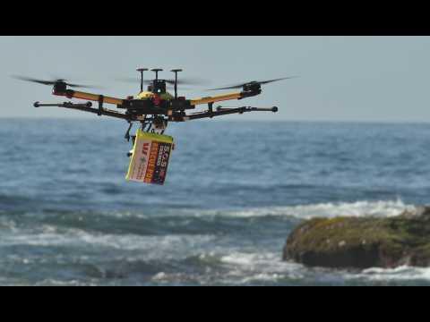 Un drone sauve des nageurs en Australie