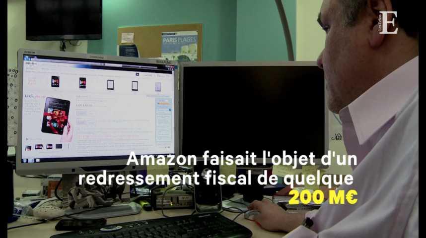 Illustration pour la vidéo Amazon et le fisc français enterrent la hache de guerre