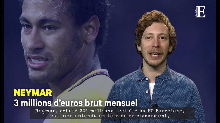 Illustration pour la vidéo Football : les salaires en or des stars du PSG