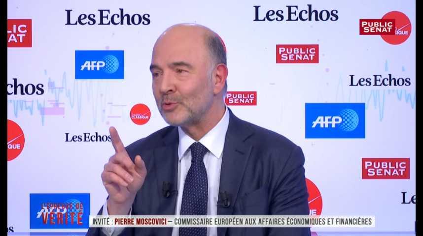 Illustration pour la vidéo « Professionnalisation incompétente », le tacle de Moscovici à Hamon