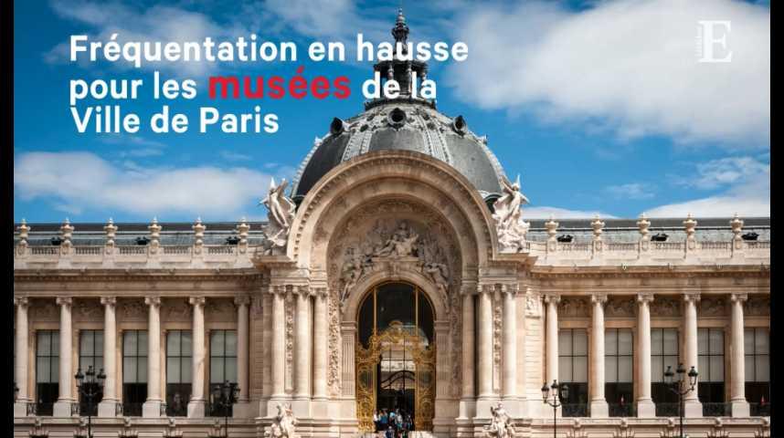 Illustration pour la vidéo Fréquentation en hausse de 4 % pour les musées de la Ville de Paris en 2017