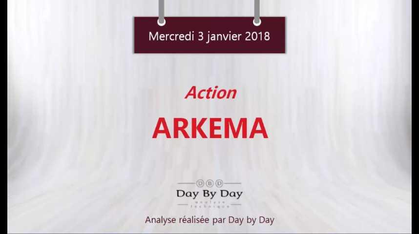 Illustration pour la vidéo Action Arkema : le plus haut historique en ligne de mire - Flash analyse IG 03.01.2018