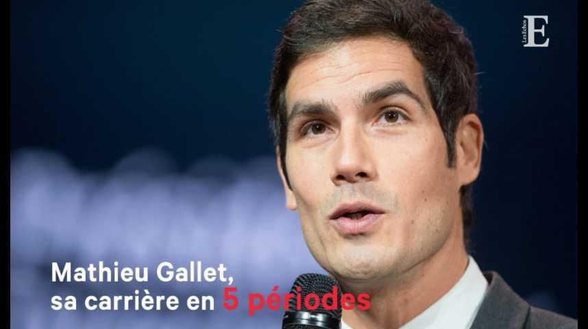 Illustration pour la vidéo Mathieu Gallet, sa carrière en 5 périodes