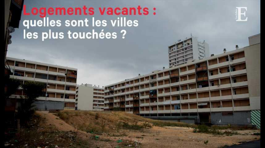 Illustration pour la vidéo Logements vacants : quelles sont les villes les plus touchées ?