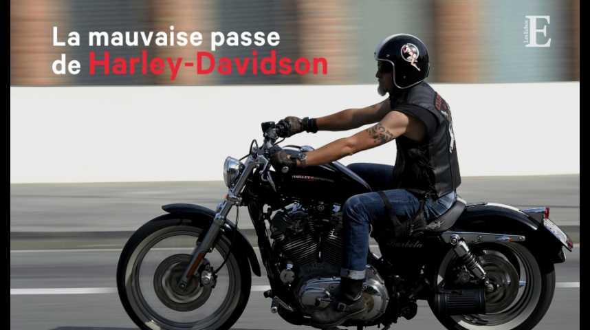 Illustration pour la vidéo La mauvaise passe d'Harley-Davidson