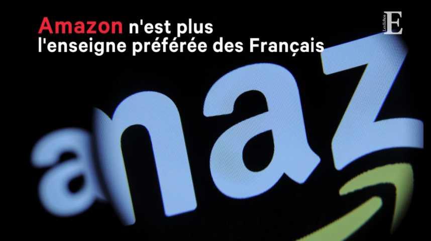 Illustration pour la vidéo Amazon n'est plus l'enseigne préférée des Français