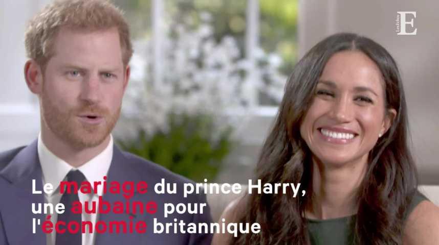 Illustration pour la vidéo Le mariage du prince Harry, une aubaine pour l'économie britannique