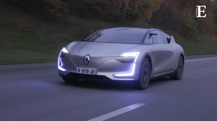 Illustration pour la vidéo Nous avons testé la Renault du futur, la Symbioz Democar