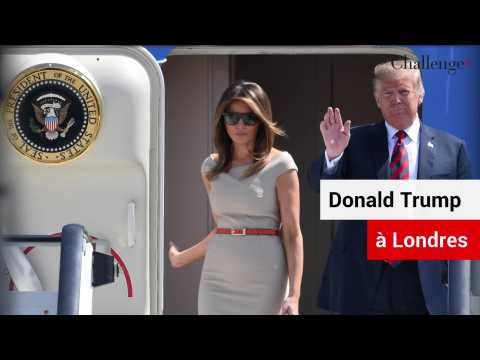 Trump en visite officielle à Londres