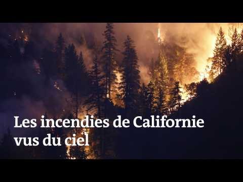 Les incendies de Californie vus du ciel