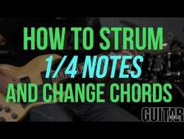 VH1 Save the Music: How to Change Chords Smoothly and