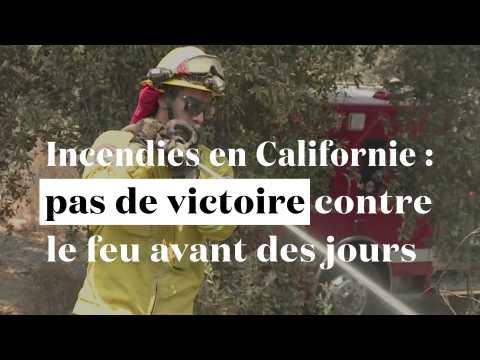 Incendies en Californie : pas de victoire des pompiers avant des semaines