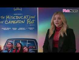 Chloë Grace Moretz on 'praying the gay away'