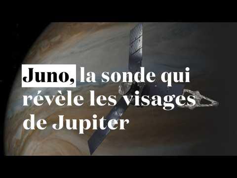Juno, la sonde qui révèle les visages de Jupiter