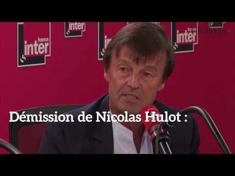 Démission de Nicolas Hulot : Les réactions des politiques