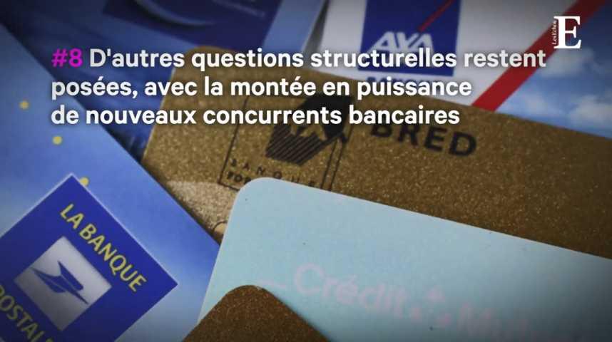 Illustration pour la vidéo Les neuf dossiers clefs de la rentrée pour les banques françaises