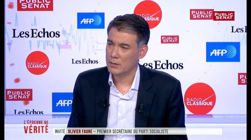 """Illustration pour la vidéo Parti socialiste : Faure promet d'être """"sans pitié"""" avec les frondeurs"""