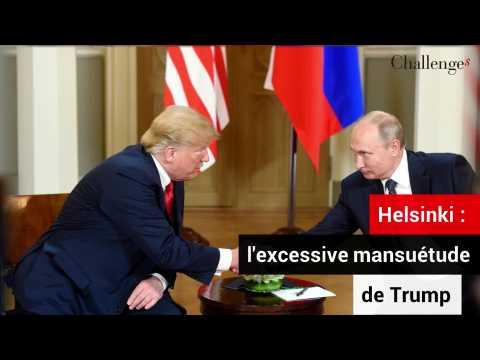 Helsinki: l'inquiétante mansuétude de Trump envers Poutine