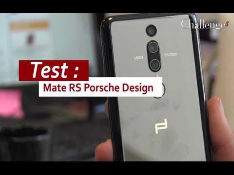 Test : Mate RS Porsche Design, la collaboration haut de gamme entre Huawei et Porsche