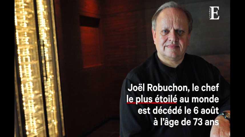 Illustration pour la vidéo Joël Robuchon, disparition d'un chef entrepreneur et pionnier des médias