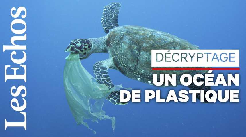 Illustration pour la vidéo Vraiment fantastique le plastique ? Plutôt dramatique pour les océans...