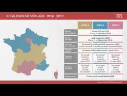 Calendrier Scolaire France.Education Voici Le Calendrier Scolaire 2018 2019