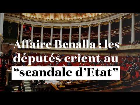 """""""Scandale d'Etat"""" : l'opposition réclame des comptes sur l'affaire Benalla"""