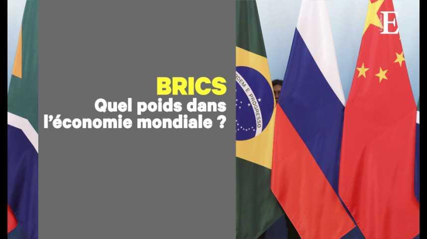 Illustration pour la vidéo Les BRICS, entre ambitions économiques et bataille de leadership
