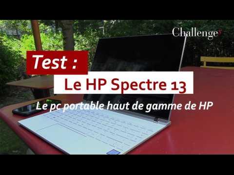 Test : Le Spectre 13, le pc portable haut de gamme de HP
