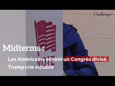 Midterms: les Américains élisent un Congrès divisé, Trump crie victoire