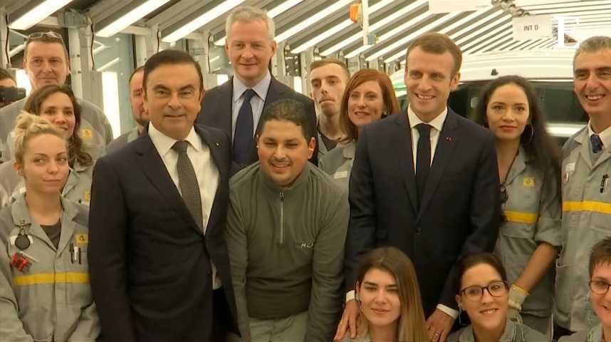 Illustration pour la vidéo Renault : 1,4 milliard d'euros investis en France en 2018