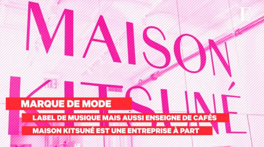 Illustration pour la vidéo Maison Kitsuné : le succès d'un modèle franco-japonais inédit
