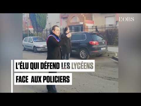 Pierre Garzon, l'élu qui défend les lycéens face aux policiers