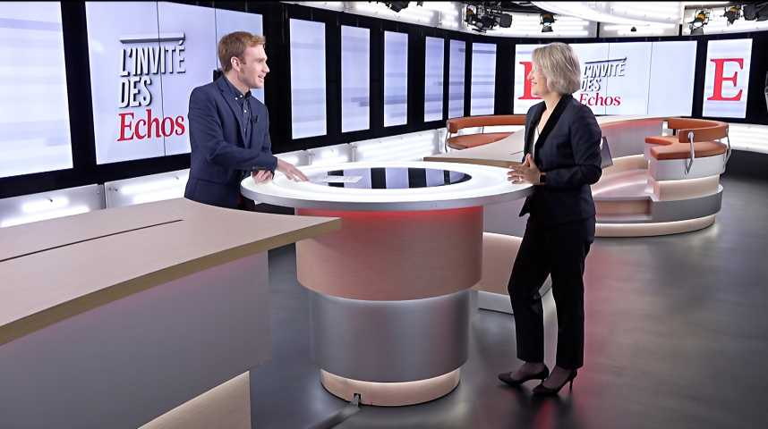 Illustration pour la vidéo Intelligence artificielle : « Air France va poursuivre sa politique de chatbots », annonce Anne Rigail