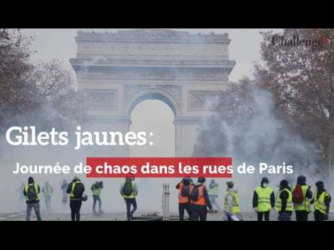 Gilets Jaunes : Journée de chaos dans les rues de Paris