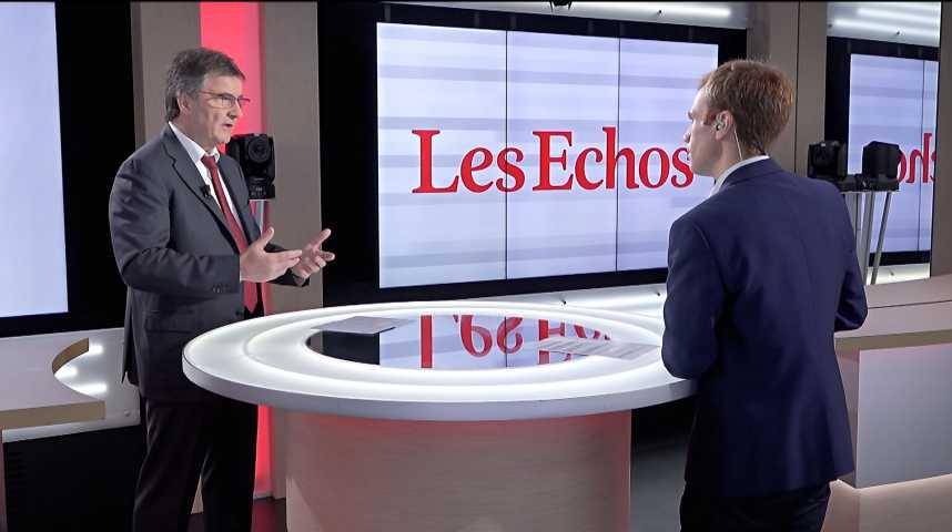 Illustration pour la vidéo « Il faut faire du préfinancement de la prime à la conversion », déclare Philippe Brassac (Crédit Agricole)