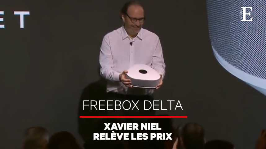 Illustration pour la vidéo Freebox Delta : Xavier Niel fait le pari du haut de gamme