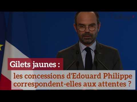 Gilets jaunes: les concessions d'Edouard Philippe vont-elles suffire ?