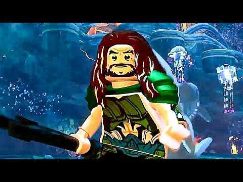 LEGO DC Super Villains: Aquaman DLC Trailer (2018) PS4 / Xbox One / PC