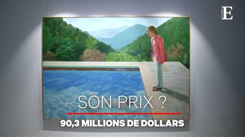 Illustration pour la vidéo David Hockney devient l'artiste vivant le plus cher au monde... et s'en moque