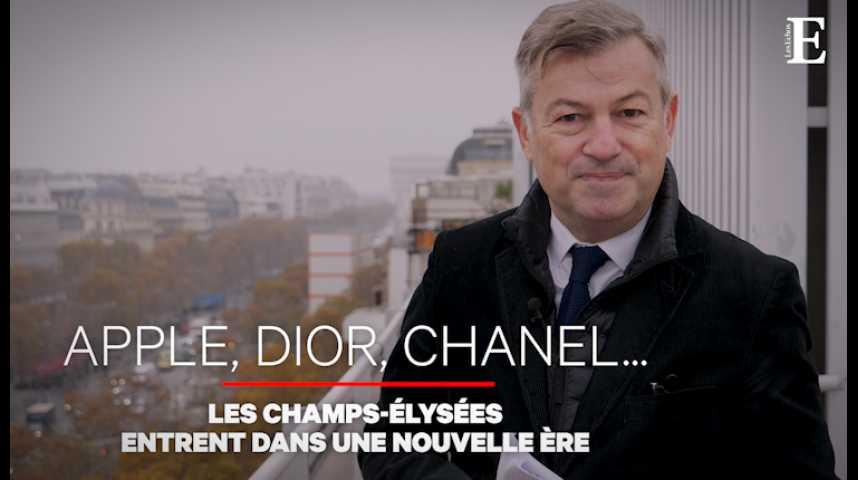 Illustration pour la vidéo Comment les Champs-Elysées se refont une beauté