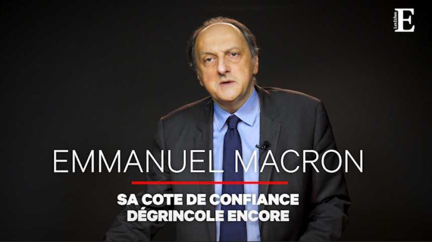 """Illustration pour la vidéo B. Sananès (Elabe) : """"Pour Macron, l'impopularité est devenue hostilité"""""""