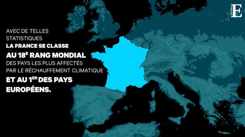 Illustration pour la vidéo Dégâts climatiques : la France est la plus affectée en Europe