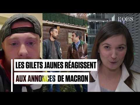 """Smic, heures sup', retraites... Les """"gilets jaunes"""" face aux annonces de Macron"""